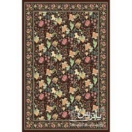 فرش پاتریس طرح زنبق گل برجسته