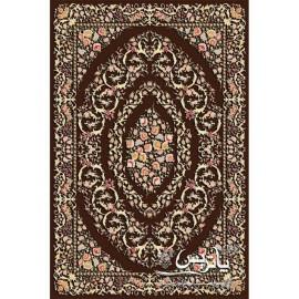 فرش پاتریس طرح گلگون گل برجسته